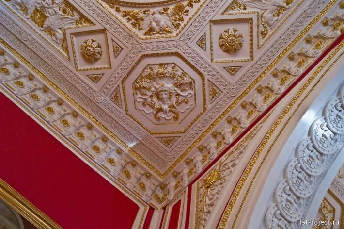 Декор интерьеров Михайловского замка — фото 67