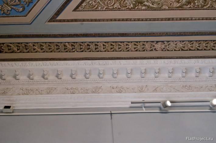 Декор интерьеров Михайловского замка — фото 27