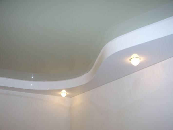 Комбинированный натяжной потолок от «ГАРМОНИЯ ПРОСТРАНСТВА»