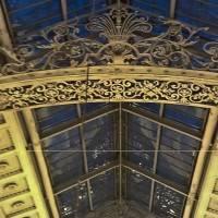 Комбинация ковки и стеклянной крыши — фото 1