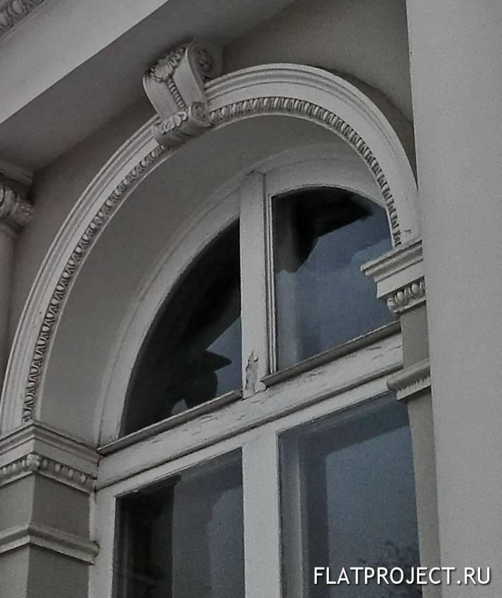 Декор амбразуры окна