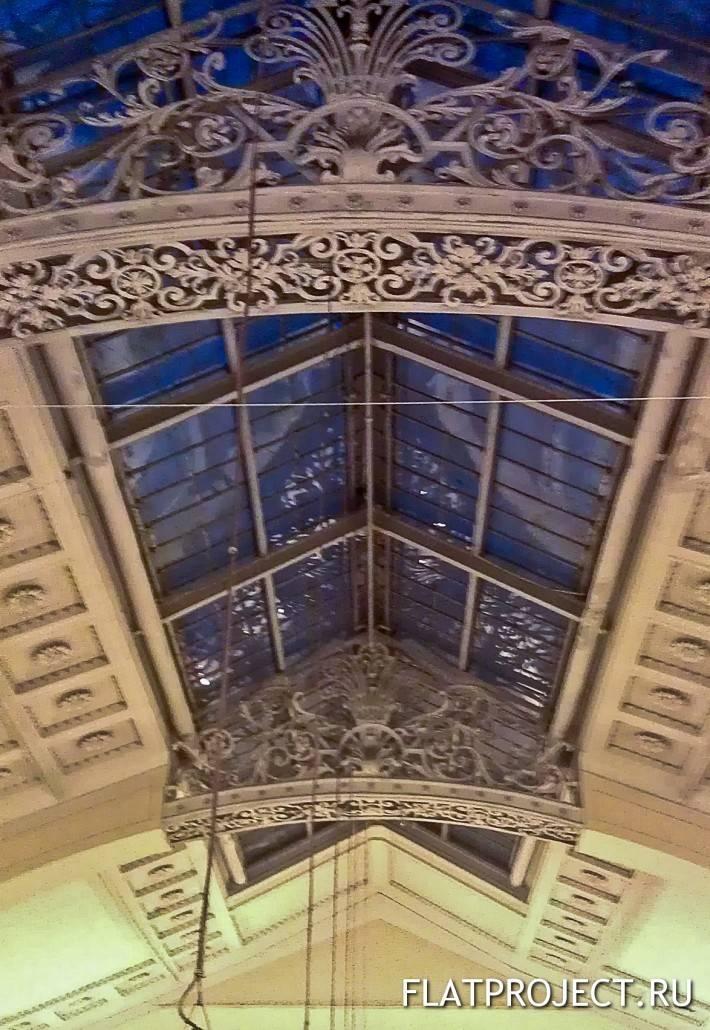 Комбинация ковки и стеклянной крыши — фото 2