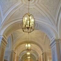 Потолки первого этажа  — фото 1