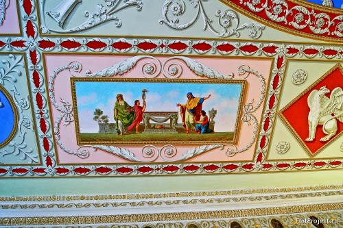 The Catherine Palace interiors – photo 79