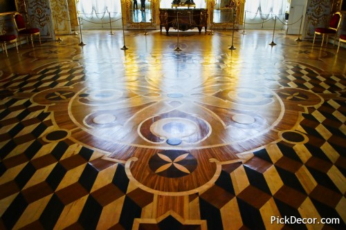 The Catherine Palace floor designs – photo 35