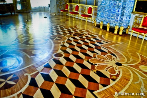 The Catherine Palace floor designs – photo 36