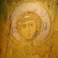 Ангел — Западный свод центрального нефа. Южный склон.  Изображение 2.