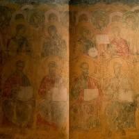Апостолы и ангелы — Западный свод центрального нефа. Северный склон.