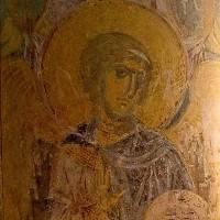 Ангел — Западный свод центрального нефа. Северный склон. Изображение 1.