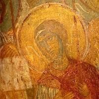 Ангел — Западный свод центрального нефа. Северный склон.  Изображение 2.