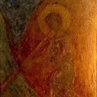 Трубящий ангел — Западный свод южного нефа. Северный склон.