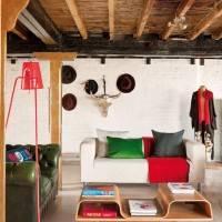 Потолок мансарды в стиле лофт (фото 2)