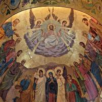 Потолок храма Спаса на Крови в Санкт-Петербурге (фото 2)