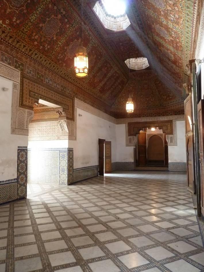 Потолок мечети Кутубия в Марракеше (фото 2)