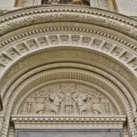 Потолки и декор Морского Никольского собора — фото 60