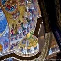 Потолки и декор Морского Никольского собора — фото 65