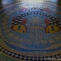 Мозаичные полы Морского Никольского собора — фото 13
