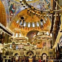 Потолки и декор Морского Никольского собора — фото 73