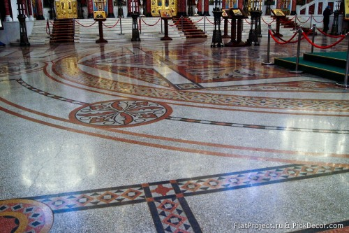 The Naval Cathedral mosaic floor – photo 3