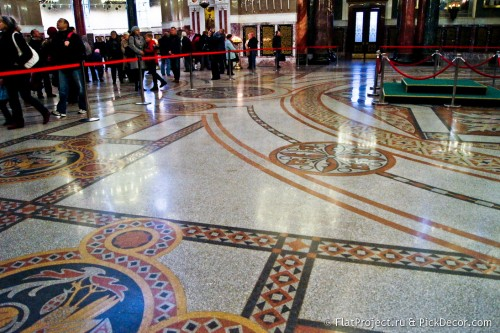 The Naval Cathedral mosaic floor – photo 24