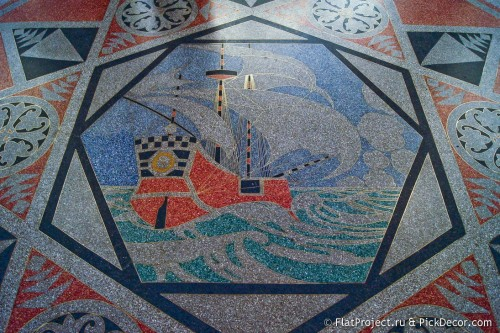 The Naval Cathedral mosaic floor – photo 17