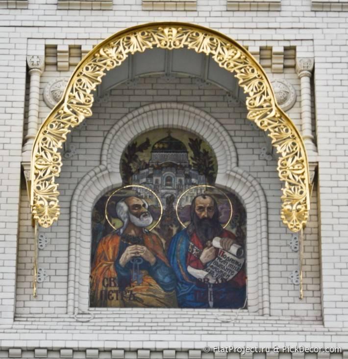 Потолки и декор Морского Никольского собора — фото 38