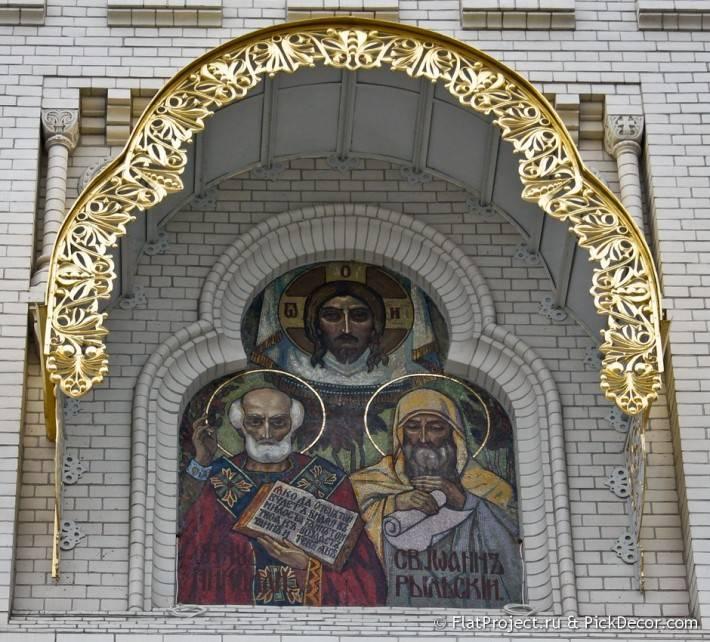 Потолки и декор Морского Никольского собора — фото 67