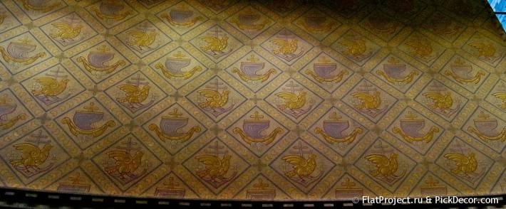 Потолки и декор Морского Никольского собора — фото 46