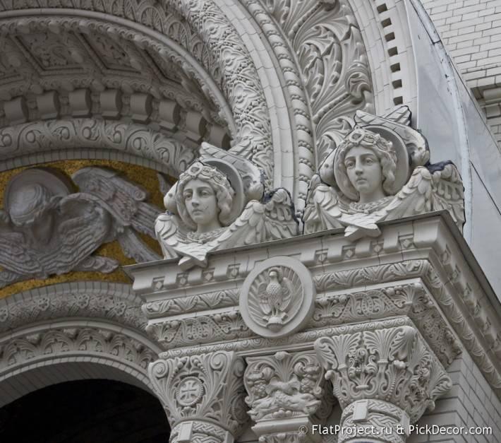 Потолки и декор Морского Никольского собора — фото 77
