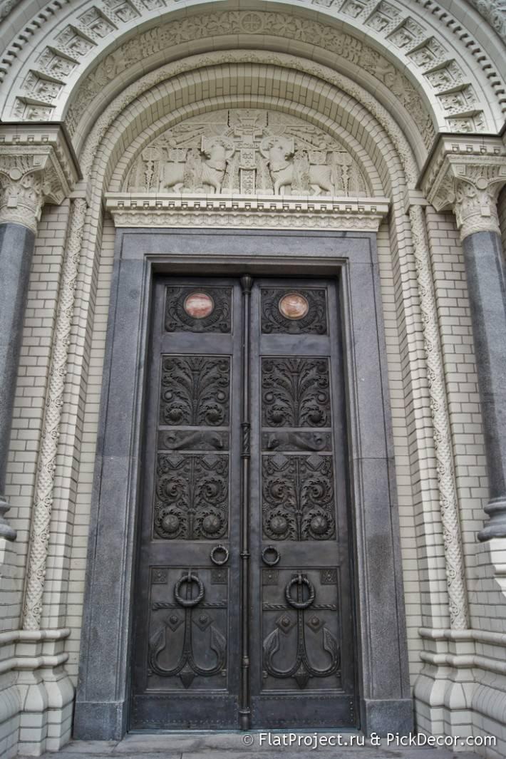 Потолки и декор Морского Никольского собора — фото 42