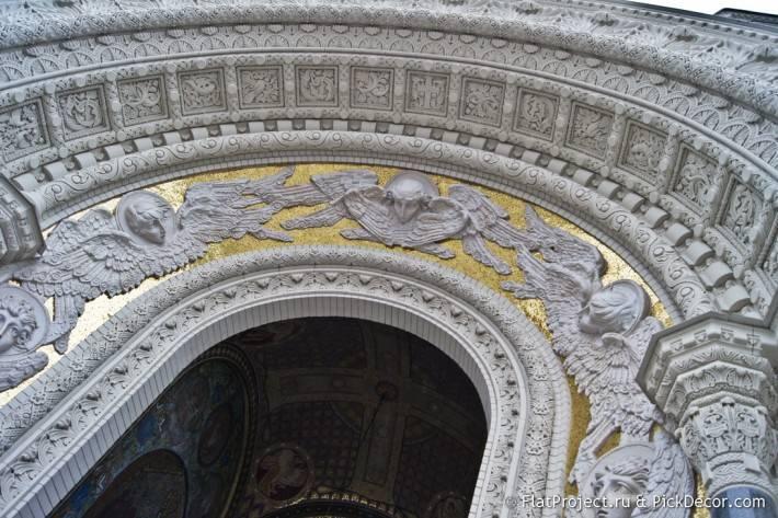 Потолки и декор Морского Никольского собора — фото 61