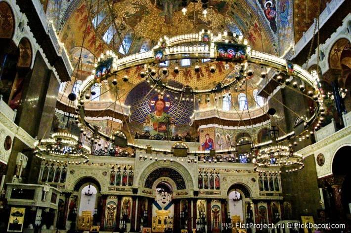 Потолки и декор Морского Никольского собора — фото 43