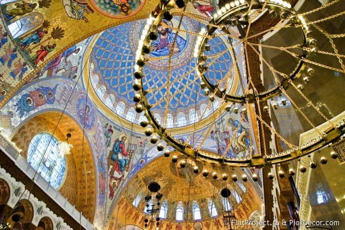 Потолки и декор Морского Никольского собора — фото 41