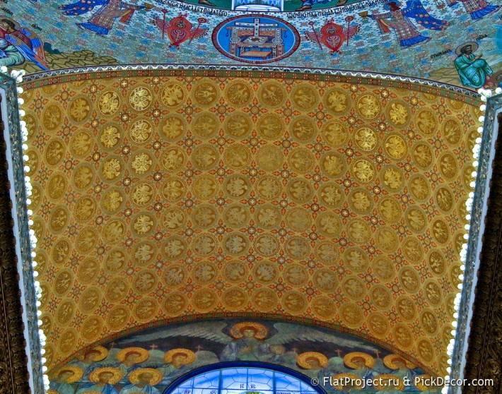 Потолки и декор Морского Никольского собора — фото 72
