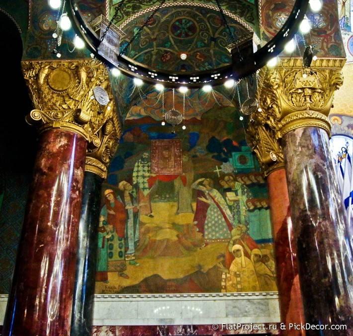 Потолки и декор Морского Никольского собора — фото 21