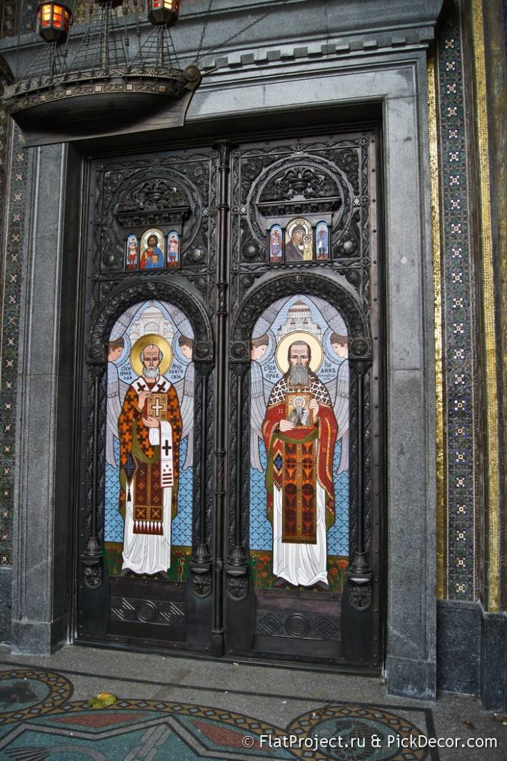 Потолки и декор Морского Никольского собора — фото 57