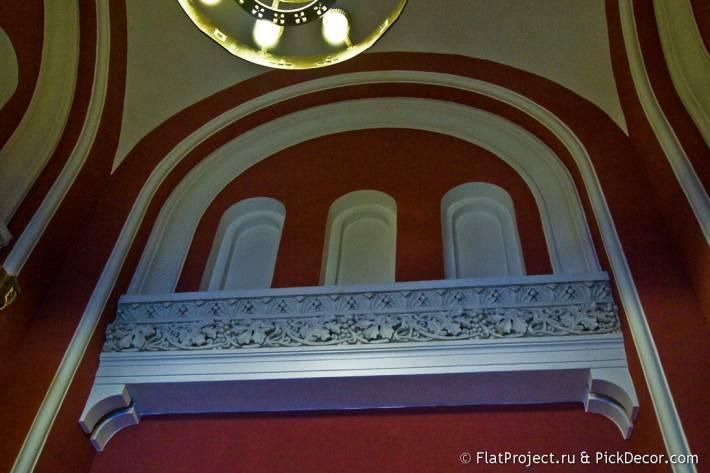 Потолки и декор Морского Никольского собора — фото 35