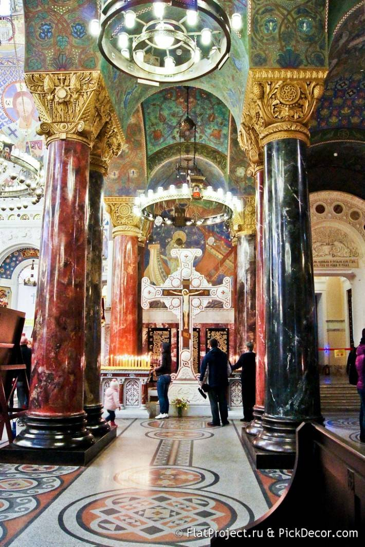 Мозаичные полы Морского Никольского собора — фото 5