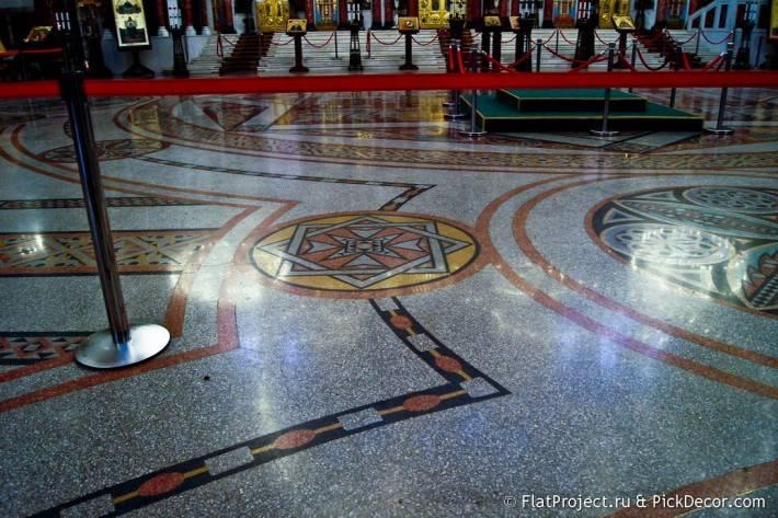 Мозаичные полы Морского Никольского собора — фото 10