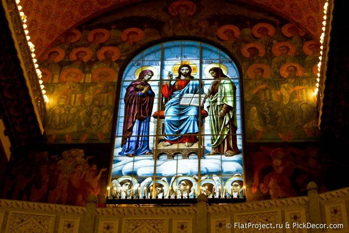 Потолки и декор Морского Никольского собора — фото 9