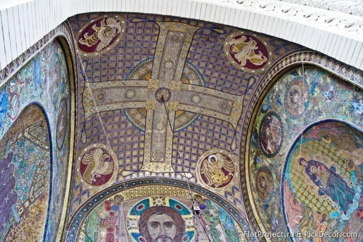 Потолки и декор Морского Никольского собора — фото 31