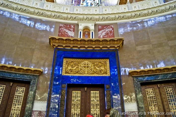 Потолки и декор Морского Никольского собора — фото 39