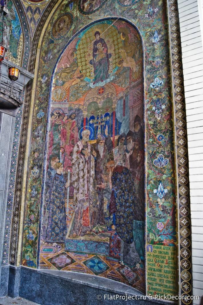 Потолки и декор Морского Никольского собора — фото 6