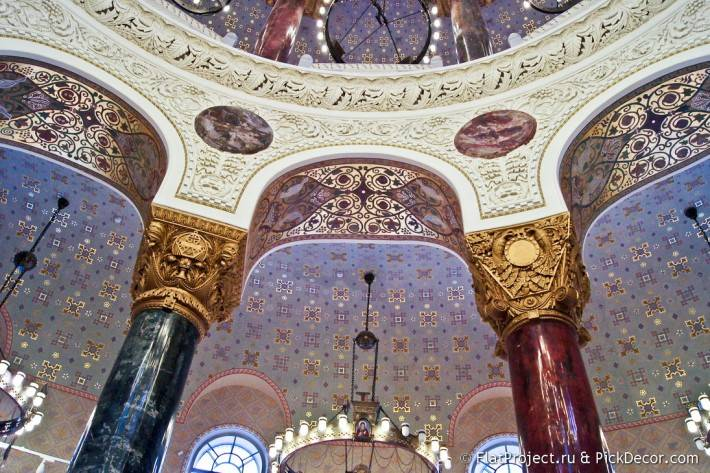 Потолки и декор Морского Никольского собора — фото 64