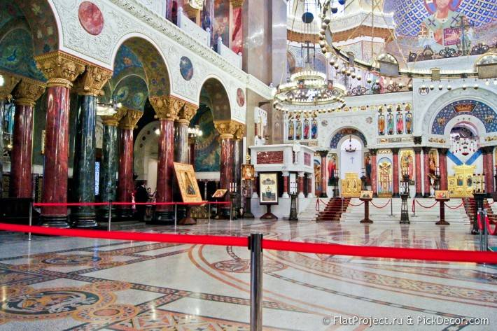 Мозаичные полы Морского Никольского собора — фото 3