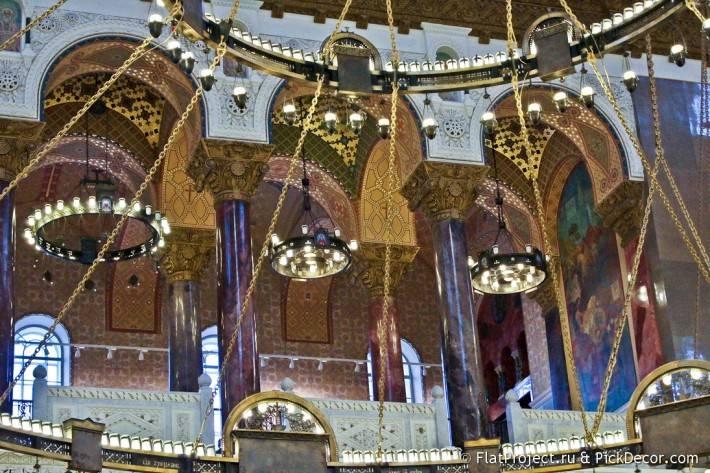 Потолки и декор Морского Никольского собора — фото 52