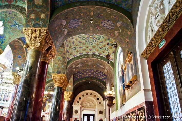 Потолки и декор Морского Никольского собора — фото 7