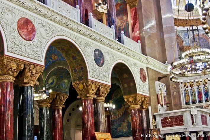Потолки и декор Морского Никольского собора — фото 30
