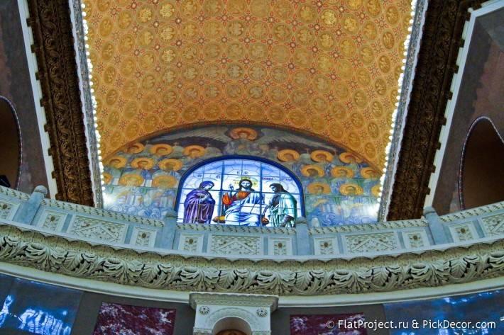 Потолки и декор Морского Никольского собора — фото 17