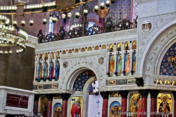 Потолки и декор Морского Никольского собора — фото 19